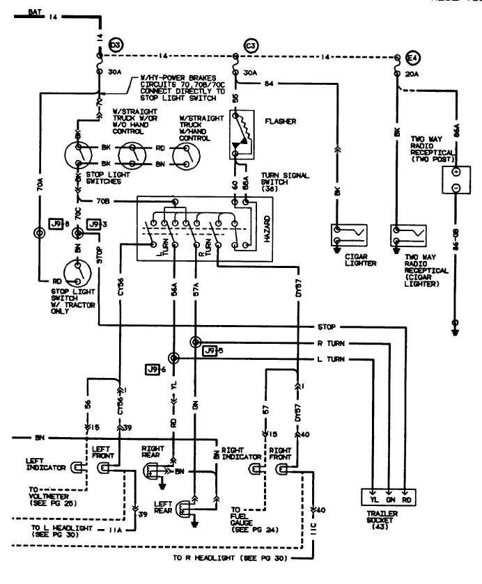S-series Lh Dr Electrical Circuit Diagrams