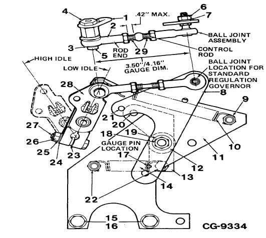 figure 5a  version  u0026quot i u0026quot  bellcrank linkage